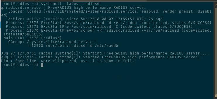 Интересные и полезные заметки / Установка сервера FreeRADIUS