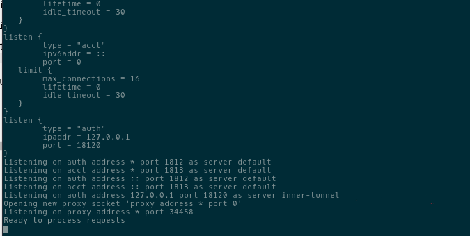 Интересные и полезные заметки / Установка сервера FreeRADIUS и веб